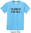 Kids Shirts Kind of a Big Deal Black Print Tee T-Shirt
