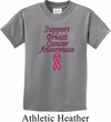 Kids Support Breast Cancer Awareness Youth T-shirt