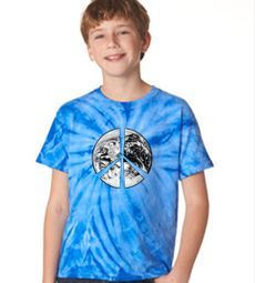 Kids Tie Dye Printed T-shirts