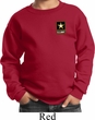 Kids US Army Pocket Print Youth Sweatshirt