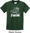 Kids White Penguin Power Swim Youth T-shirt