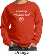 Kids Yoga Heavily Meditated with OM Youth Sweatshirt