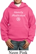 Kids Yoga Hoodie Heavily Meditated with OM Youth Hoody