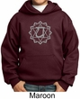 Kids Yoga Hoodie Sweatshirt Anahata Heart Chakra Youth Hoody
