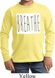 Kids Yoga Shirt Breathe Long Sleeve Tee T-Shirt