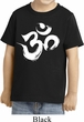 Kids Yoga Shirt Brushstroke Aum Toddler Tee T-Shirt
