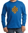 Kids Yoga Shirt Endless Knot Long Sleeve Tee T-Shirt
