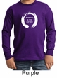 Kids Yoga Shirt Enso Happiness Long Sleeve Tee T-Shirt