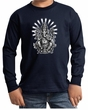 Kids Yoga Shirt Ganesha Long Sleeve Tee T-Shirt