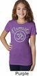 Girls Yoga Shirt Namaste Om Tee T-Shirt