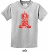 Kids Yoga Shirt Red Tara Tee T-Shirt