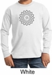 Kids Yoga Shirt Sahasrara Chakra Meditation Youth Long Sleeve Shirt