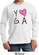 Kids Yoga Shirt Yoga Love Long Sleeve Tee T-Shirt