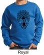 Kids Yoga Sweatshirt Black Bodhi Tree Sweat Shirt