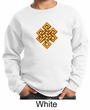 Kids Yoga Sweatshirt Endless Knot Sweat Shirt