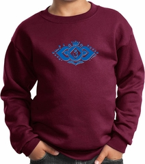 Kids Yoga Sweatshirt Floral Ajna Sweat Shirt