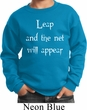 Kids Yoga Sweatshirt Leap Sweat Shirt