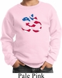 Kids Yoga Sweatshirt Patriotic Om Sweat Shirt