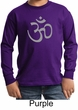 Kids Yoga T-shirt Aum Symbol Meditation Youth Tee Shirt