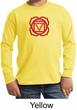Kids Yoga T-shirt Muladhara Root Chakra Youth Long Sleeve Shirt