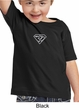 Kids Yoga T-shirt Super OM Small Print Toddler Tee