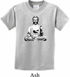 Kids Yoga Tee At Peace Buddha Youth T-shirt