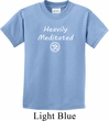 Kids Yoga Tee Heavily Meditated with OM Youth T-shirt