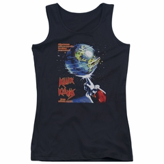 Killer Klowns From Outer Space Juniors Tank Top Invaders Black Tanktop