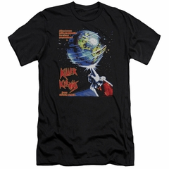 Killer Klowns From Outer Space Slim Fit Shirt Invaders Black T-Shirt