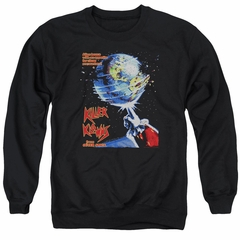 Killer Klowns From Outer Space Sweatshirt Invaders Adult Black Sweat Shirt
