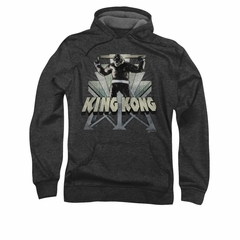 King Kong Hoodie Sweatshirt 8th Wonder Charcoal Adult Hoody Sweat Shirt