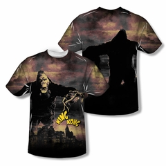 King Kong Kong In The City Sublimation Kids Shirt Front/Back Print