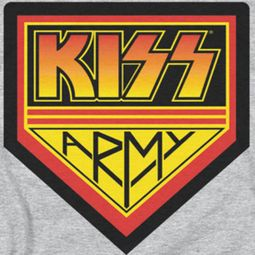 Kiss Army Logo Shirts