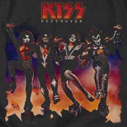 Kiss Destroyer Cover Shirts