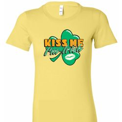 Kiss Me I'm Irish Ladies St Patrick's Day Shirts