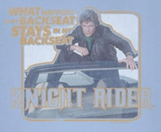 Knight Rider Back Seat Shirts