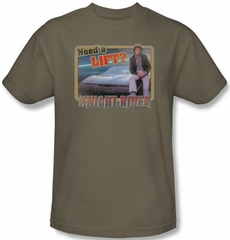 Knight Rider Kids T-shirt Need A Lift Youth Safari Green Tee Shirt