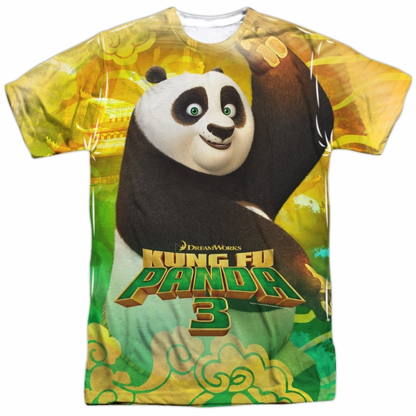 2b45c84b Kung Fu Panda 3 Po And Friends Sublimation Shirt - Kung Fu Panda 3 ...