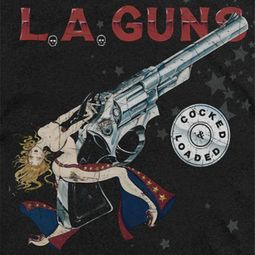 L.A. Guns Cocked And Loaded Shirts
