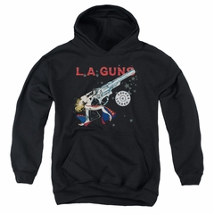 L.A. Guns Kids Hoodie Cocked And Loaded Black Youth Hoody