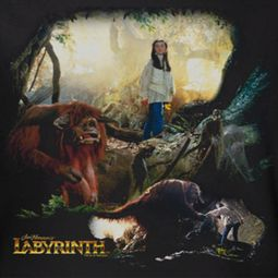Labyrinth Sarah & Ludo Shirts