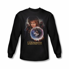 Labyrinth Shirt I Have A Gift Long Sleeve Black Tee T-Shirt