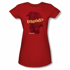 Labyrinth Shirt Juniors Ludo Friend Red Tee T-Shirt