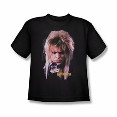 Labyrinth Shirt Kids Goblin King Black Youth Tee T-Shirt