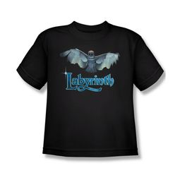 Labyrinth Shirt Kids Title Sequence Black Youth Tee T-Shirt
