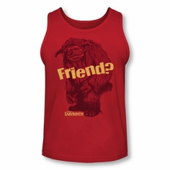 Labyrinth Tank Top Ludo Friend Red Tanktop
