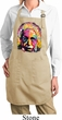 Ladies Apron Albert Einstein Full Length Apron with Pockets