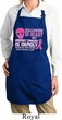 Ladies Apron Halloween Cancer Deadly Full Length Apron with Pockets