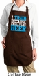 Ladies Apron I Train For Beer Full Length Apron with Pockets