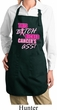 Ladies Apron Kicked Cancers Ass Full Length Apron with Pockets